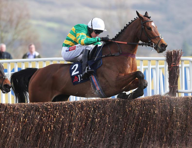 SIMON ROWLANDS: Defi Du Seuil's turn of foot