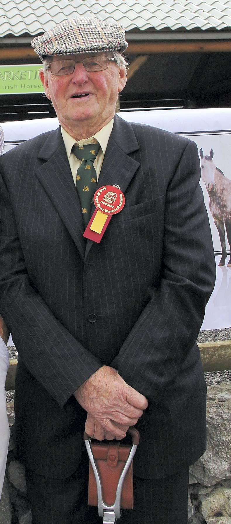 Timmy Sullivan a huge loss to the Irish Draught world