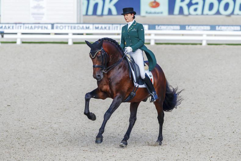 DRESSAGE: Merveldt fifth in German Grand Prix