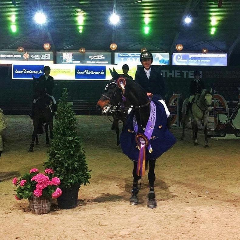 SHOW JUMPING: Allen brothers score a 1-2 in Lier