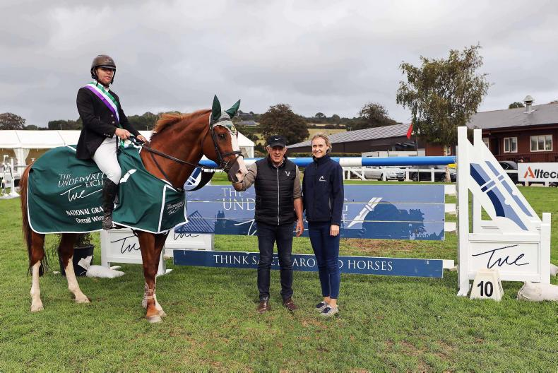 SHOW JUMPING: Final win for Gallagher as O'Meara lands league hat-trick