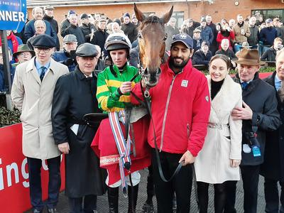 Brilliant jumping wins Drinmore for Fakir D'oudairies