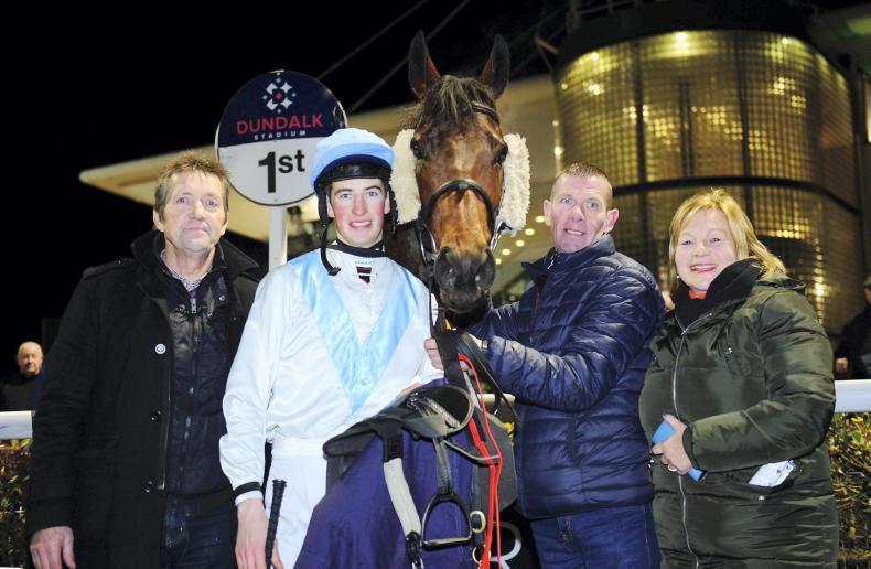 VIEW FROM ABOVE: Special moment for Cosgrave