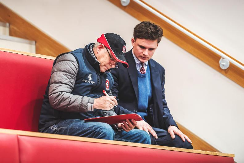 GOFFS UK DECEMBER HIT SALE: Herculean tops trade as Williams bows out