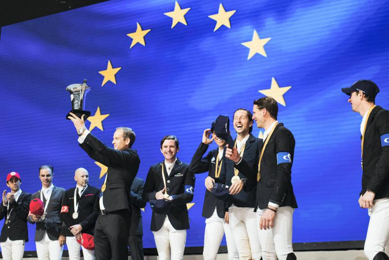 SHOW JUMPING: Victory for team Europe in the Riders Masters Cup in Paris