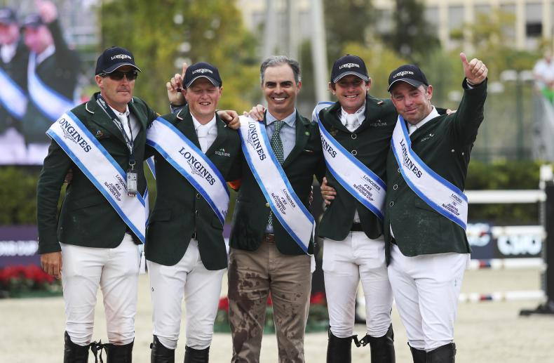 Irish show jumping team nominated for RTÉ Sport Team of the Year award