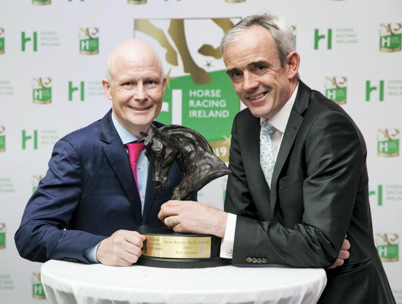 Pat Smullen and Ruby Walsh honoured at HRI Awards