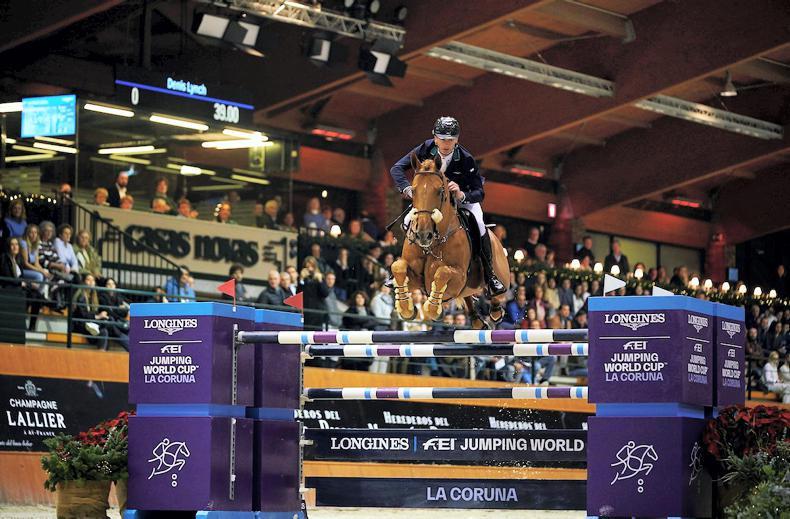 SHOW JUMPING:  Lynch wins Spanish Grand Prix
