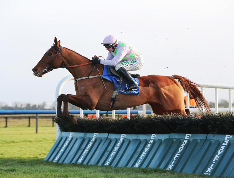 FAIRYHOUSE SATURDAY: Monkfish finds his stride