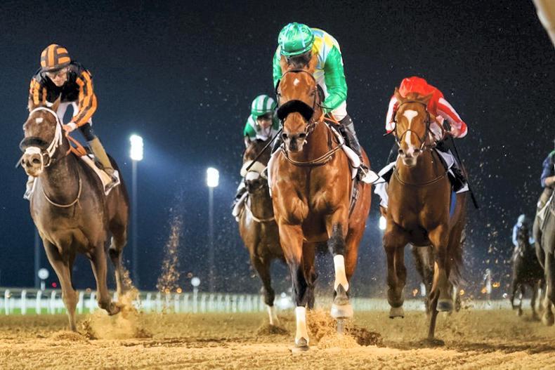 INTERNATIONAL RACING: O'Shea's Ambition realised in Dubai Creek Mile