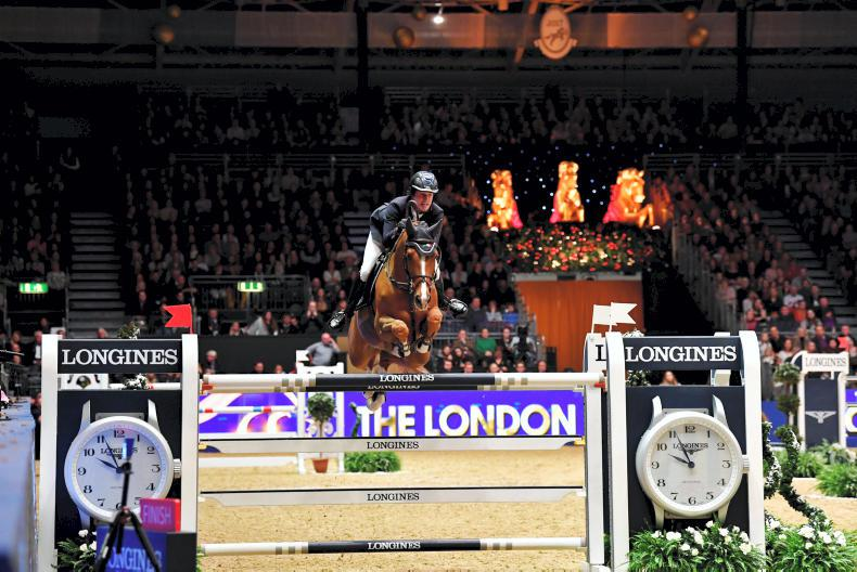 SHOW JUMPING: Kenny scores fourth Irish win at Olympia
