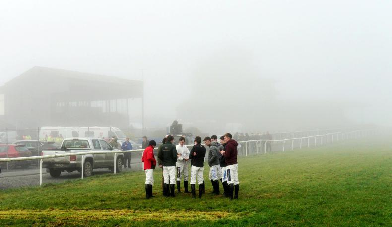 THURLES SATURDAY: Thurles abandoned due to dense fog