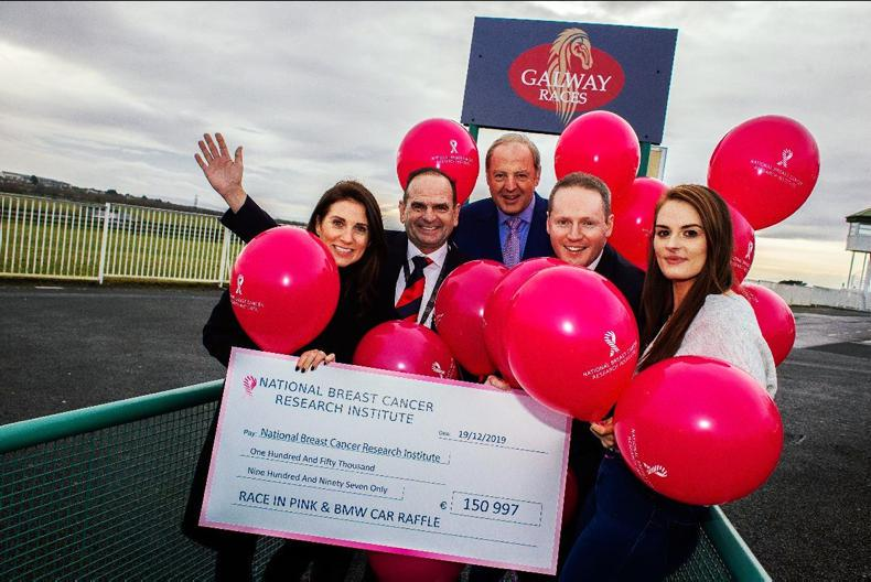 PARROT MOUTH: Galway pink day raises huge funds