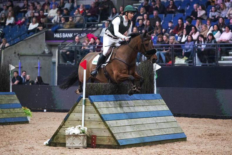 INTERNATIONAL: McCarthy wins Eventing Grand Prix