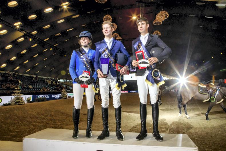 JUMPING: Rhys Williams wins overall FEI Jumping Ponies' Trophy