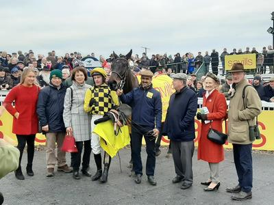 Photo makes triumphant Tramore return