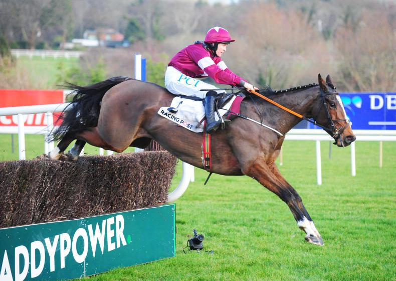 LEOPARDSTOWN THURSDAY: Superb jumping by Notebook