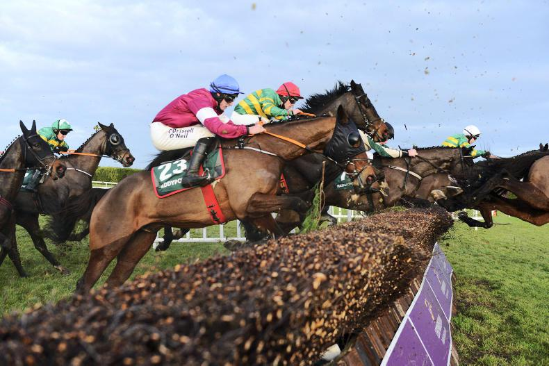 LEOPARDSTOWN FRIDAY: Bull outstays rivals in roaring finish