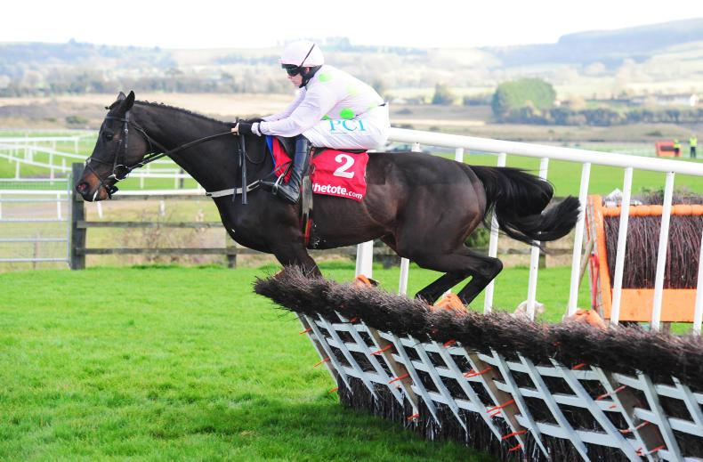 PUNCHESTOWN TUESDAY: Burrows Saint takes command