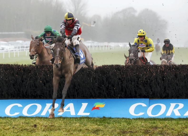 BRITAIN: Corner corrals Coral's Welsh Grand National