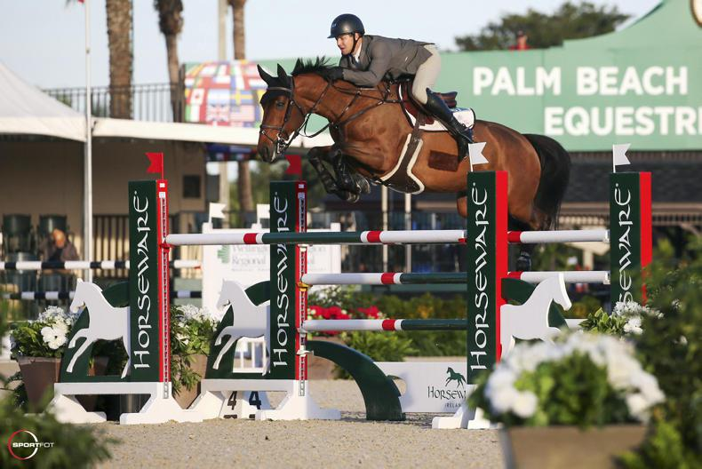 SHOW JUMPING:   Sweetnam wins $8,000 opener in Florida