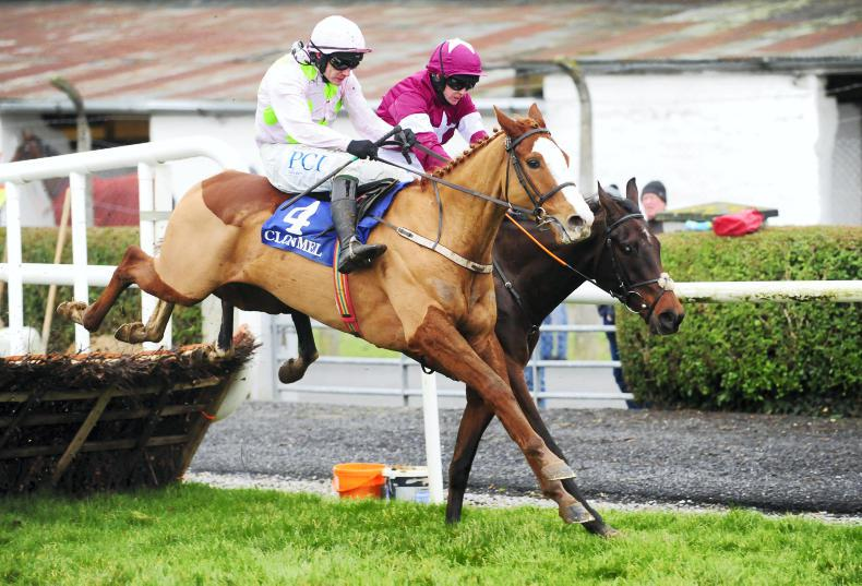 CLONMEL THURSDAY: Tiger Tap Tap on the right trail