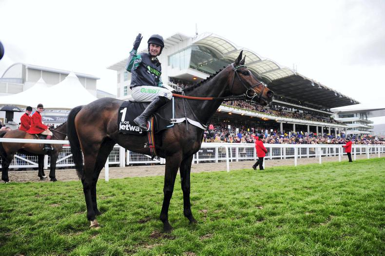 Altior tops 31 Champion Chase contenders