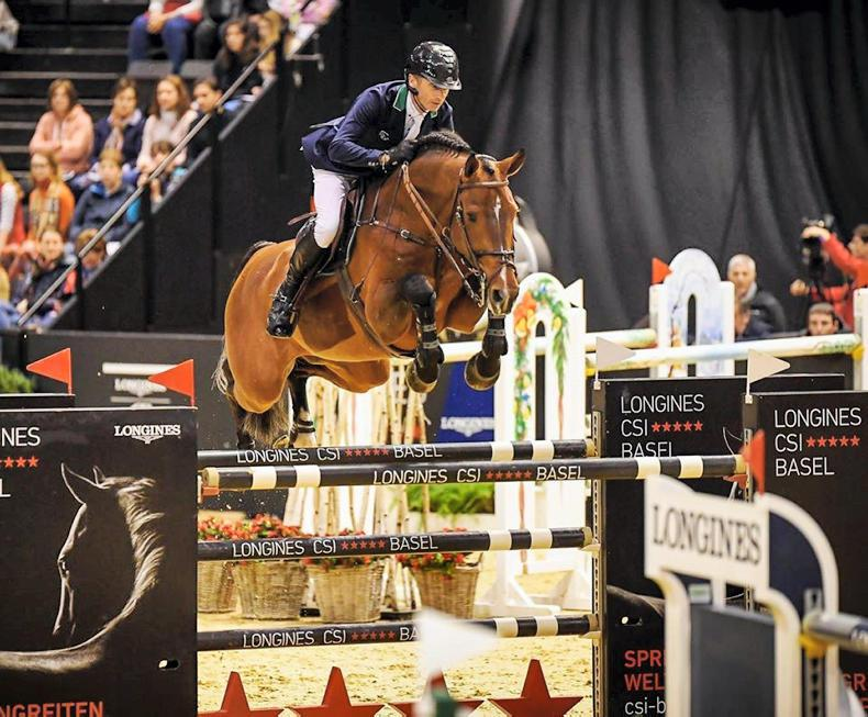 SHOW JUMPING: Denis Lynch crowned Leading Rider at Basel