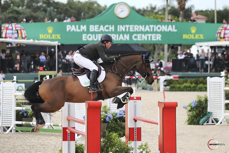 INTERNATIONAL: O'Connor wins  $75,000 Grand Prix in Florida