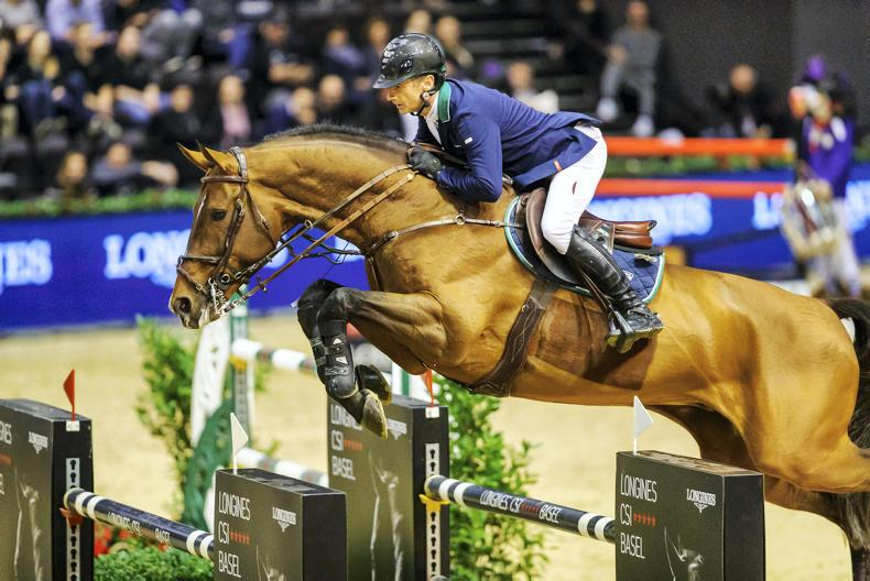 INTERNATIONAL: Lynch crowns Swiss show with leading rider title