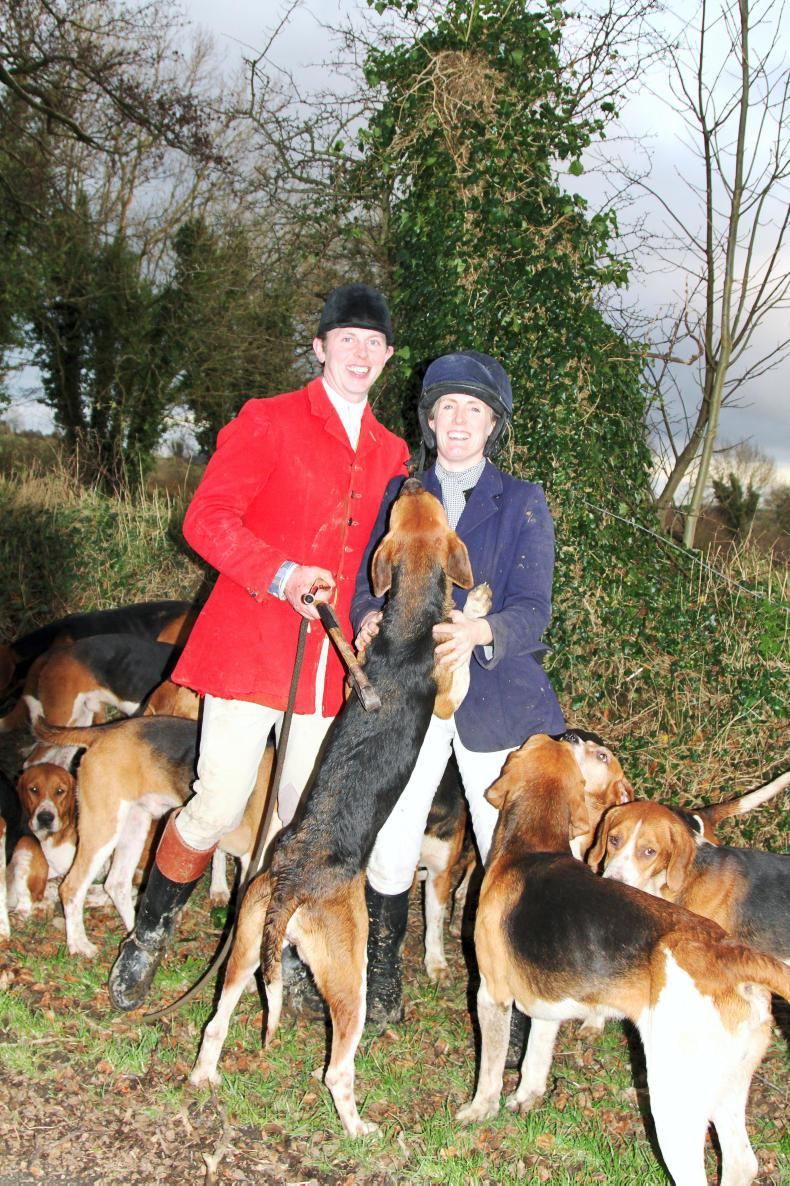 PONY TALES:  Hunting duo a perfect match