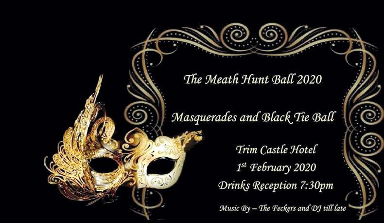 PONY TALES:  Historic castle setting for Meath Hunt ball