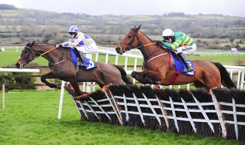 PUNCHESTOWN SUNDAY: Andy Dufresne back in front