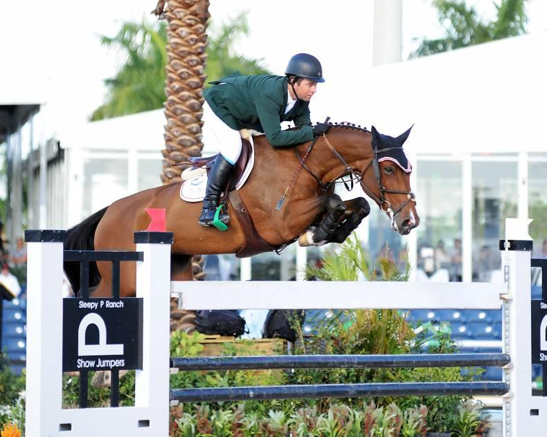 Cian O'Connor third in $50,000 Grand Prix
