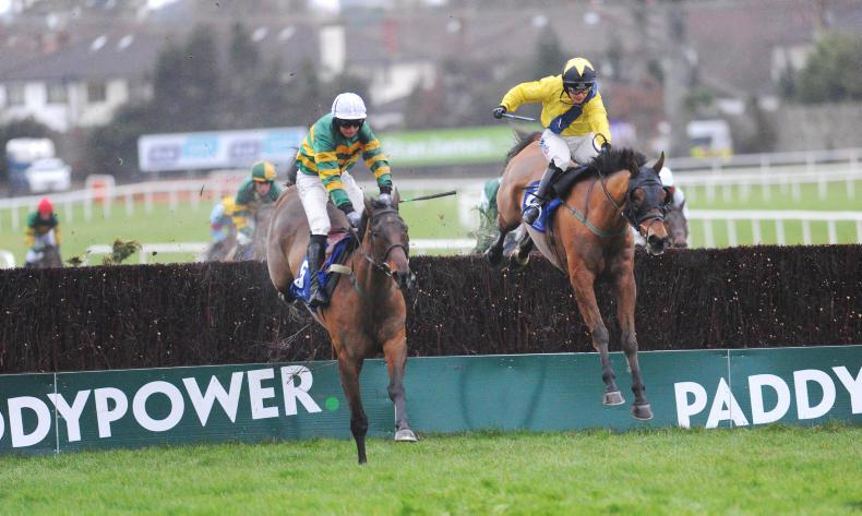 RYAN McELLIGOTT:  DRF could include a hunter chase