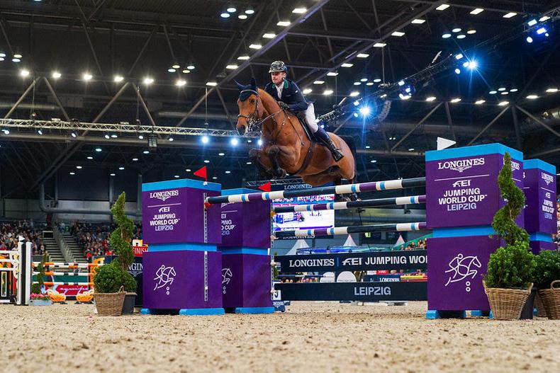 SHOW JUMPING: Denis Lynch wins five-star World Cup Grand Prix in Leipzig