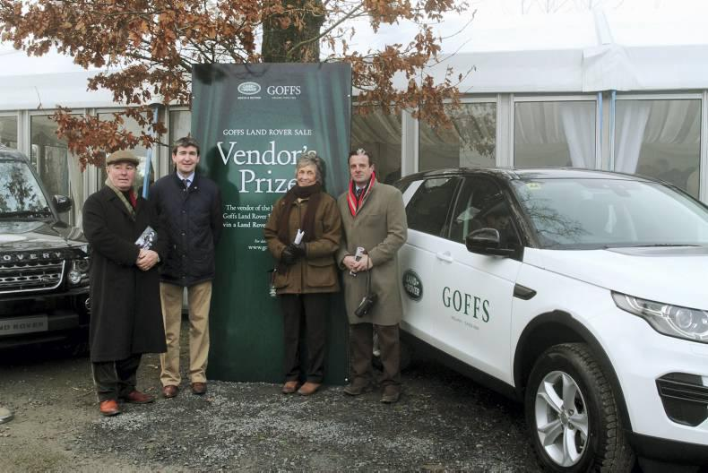 Disovery Sport for vendor of Goffs Land Rover Bumper winner
