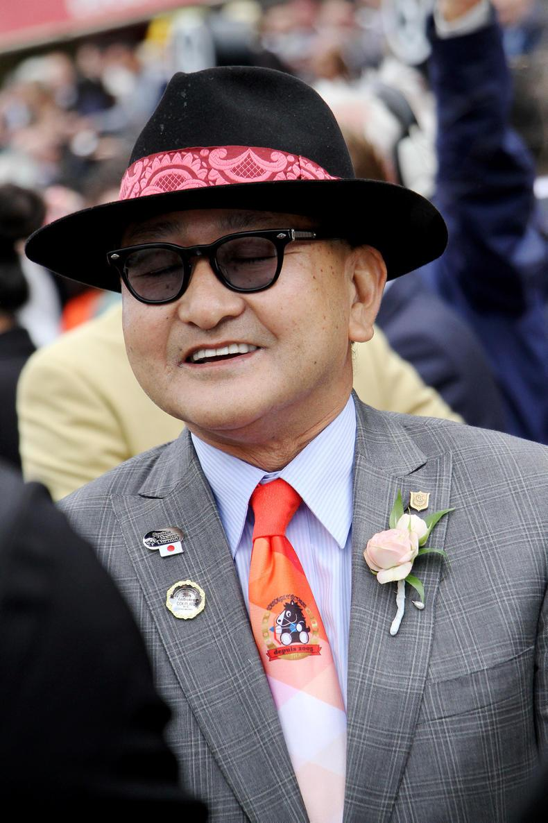JAPAN:  Lys Gracieux receives champion's farewell