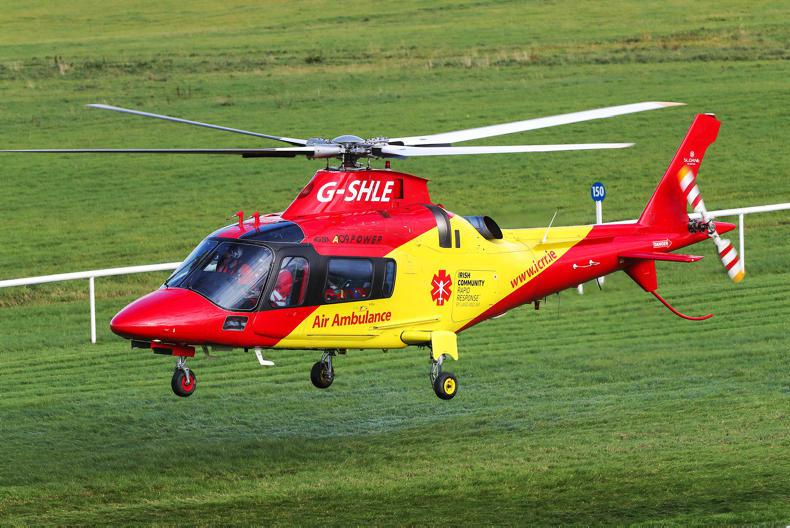 PARROT MOUTH: Keep the air ambulance flying