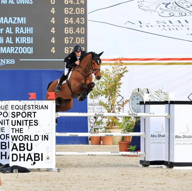 Irish young guns Pender and Ryan score wins in Abu Dhabi with Irish Sport Horses