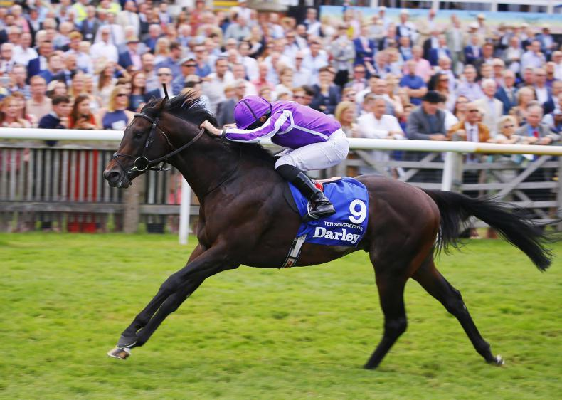SIRE REVIEW: Ten Sovereigns - Standing at Coolmore Stud