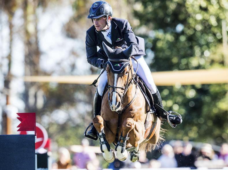 SHOW JUMPING:  Dream comes true for Kenny