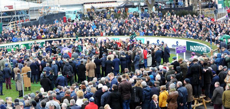 LEOPARDSTOWN SUNDAY: Faugheen fever sets crowds alight