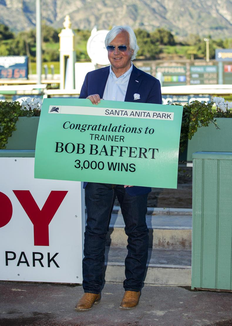 AMERICA: Thousand makes it 3,000 for Baffert