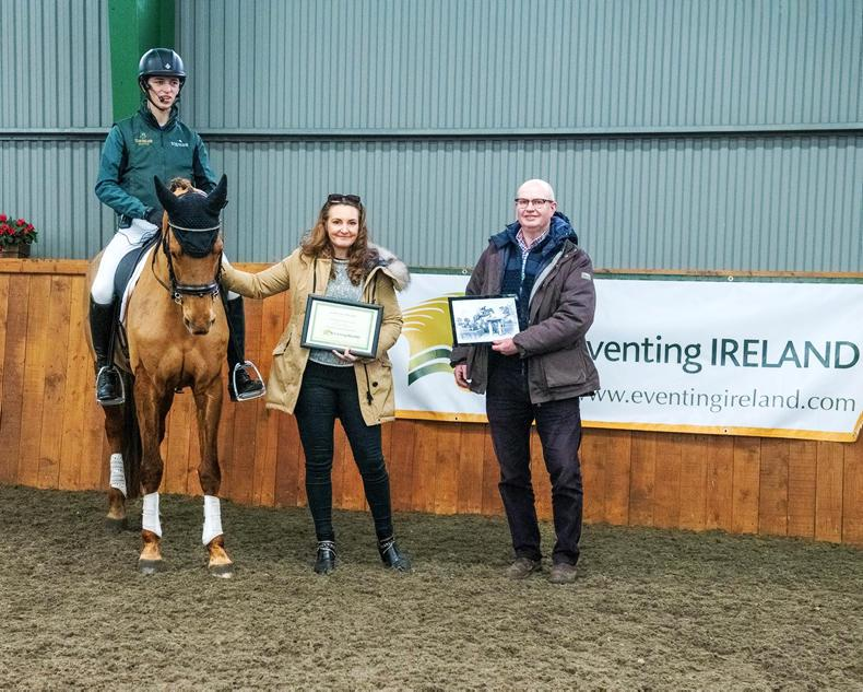 EVENTING:  Brilliance of Rioghan Rua honoured