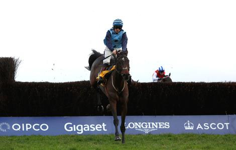 Riders Onthe Storm prevails in dramatic Ascot Chase