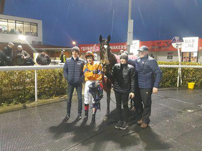 Donnacha O'Brien off the mark as a trainer with Dundalk strike