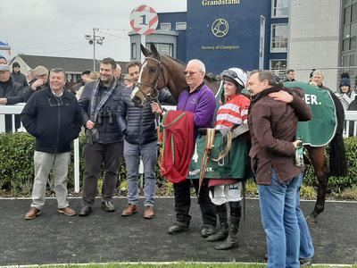 Jason The Militant edges Naas thriller