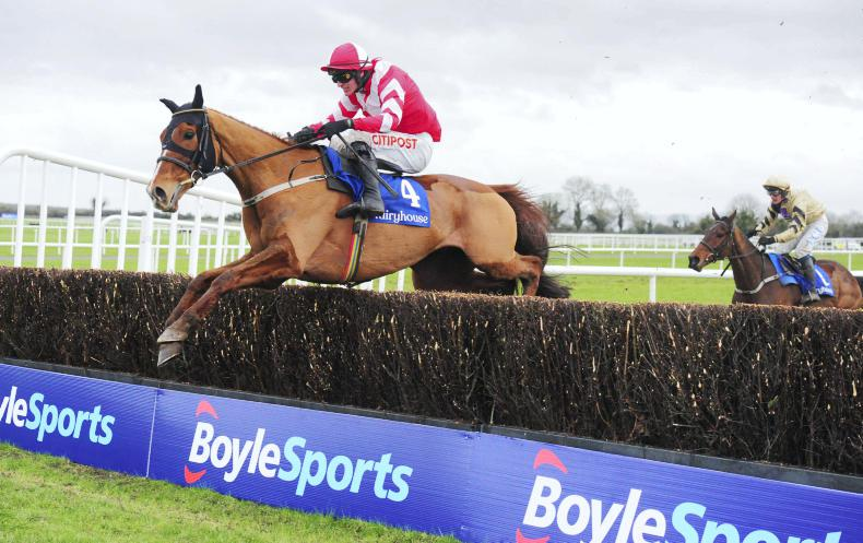 FAIRYHOUSE SATURDAY: Acapella Bourgeois powers home in the Bobbyjo