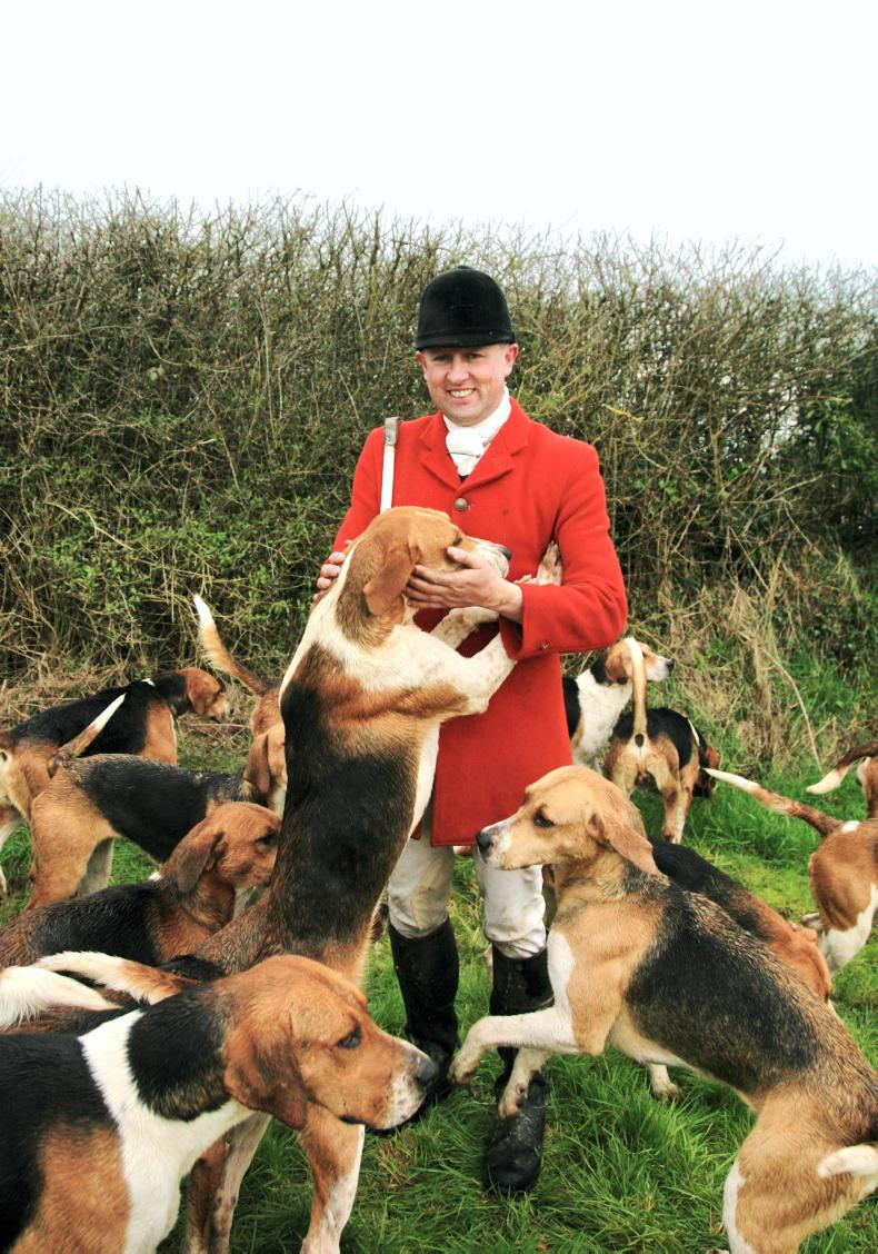 KENNEL LIFE:  Huntsman Ger Withers